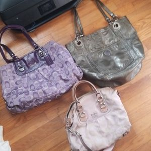 Coach purse bundle 3 purses